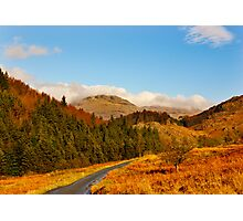 Duddon Valley Autumn Photographic Print