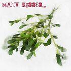 Many kisses by RitaLazaro