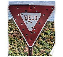 Redneck Target Practice Poster