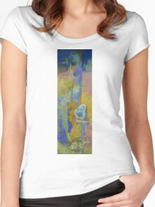 Feng Shui Parakeets Women's Fitted Scoop T-Shirt
