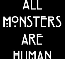 Monsters are Human by cailinB