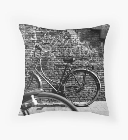 By Passing Throw Pillow