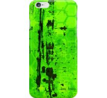 Rusty sci-fi green iPhone Case/Skin