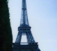 Eiffel Tower Polaroid Sticker