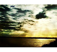 light always wins Photographic Print