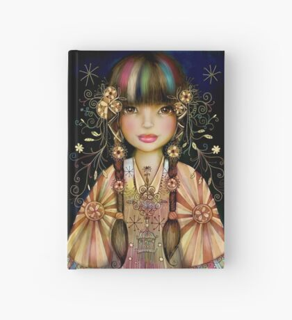 Rainbow Princess Hardcover Journal