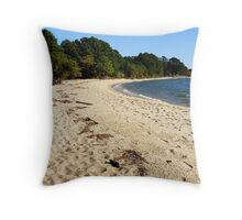 Point Lookout, MD Throw Pillow