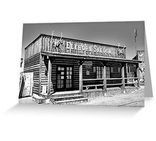 Royal Gorge Bridge Town Pre-Fire  Greeting Card