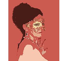 Venetian Mask 24 Photographic Print