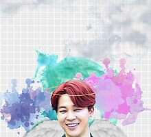 BTS/Bangtan Sonyeondan - Angel Jimin by skiesofaurora