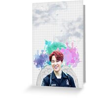 BTS/Bangtan Sonyeondan - Angel Jimin Greeting Card