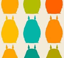 Totoro colors by ururuty
