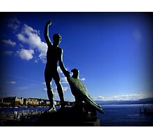 Zurich and Ganymede Photographic Print