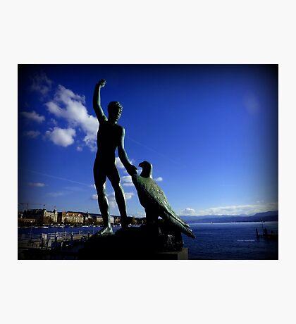 Zurich and Ganymede Photographic Print