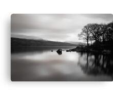 Coniston 05 - View Across Coniston Water, Lake District, Cumbria Canvas Print
