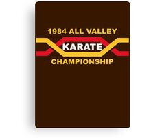 1984 All Valley Championship Canvas Print