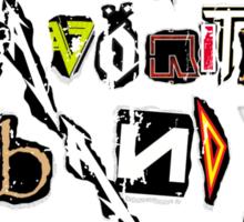 Your Favorite Band SUCKS Sticker