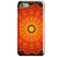 Pumpkin Tart Mandala iPhone Case/Skin