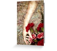 Living touch... Greeting Card
