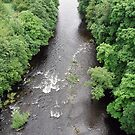 River Dee from the Pontycysyllte Aqueduct by Paul  Green