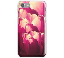 More Hot Pink Tulips iPhone Case/Skin