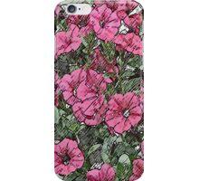 Jamboree Petunias 2 iPhone Case/Skin
