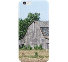 Part of an Old Barn iPhone Case/Skin