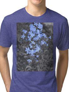 A Touch of Blue Tri-blend T-Shirt