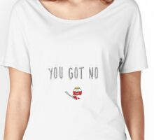 "BTS Bangtan Jimin  ""You Got No Jams"" Milky Design Women's Relaxed Fit T-Shirt"