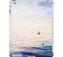 Sailing Boat Ocean Sunset Quindalup iPad Case/Skin