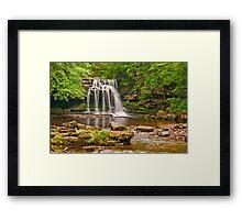 West Burton Falls Framed Print