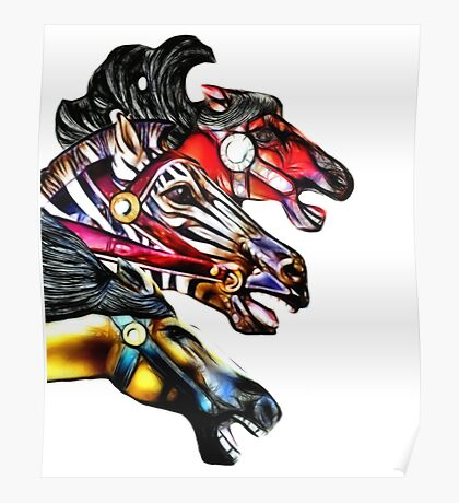 Carousel Equine Poster
