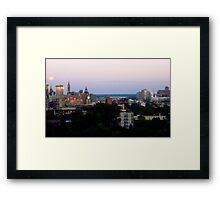 Ottawa Morning Framed Print
