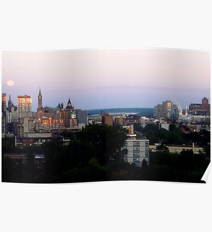 Ottawa Morning Poster