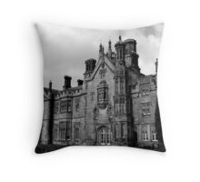 Margam Castle Throw Pillow