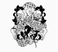 Skulls and Roses 2 Mens V-Neck T-Shirt
