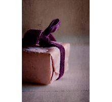pretty and clean parcel - Pink October Photographic Print