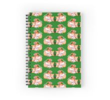 Leaf Hamtaros Spiral Notebook