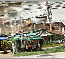 Corner shop, Chiang Mai,Thailand by Catherine Ames
