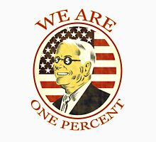 Occupy Wall Street We are One percent T-Shirt