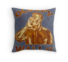 Occupy Wall Street I am 99 percent Throw Pillow