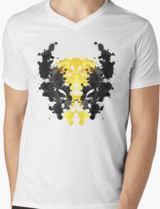 Wolverine Rorschach Mens V-Neck T-Shirt