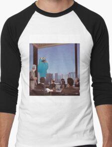 Cookie Monster Business Men's Baseball ¾ T-Shirt