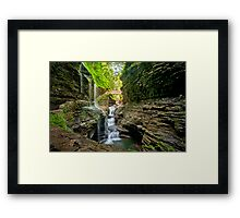 Spellbound at Watkins Glen Framed Print