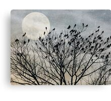 Traveler's Roost Canvas Print