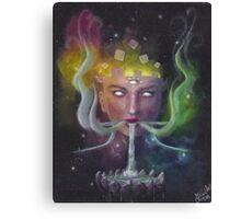 Celestial Visage Canvas Print