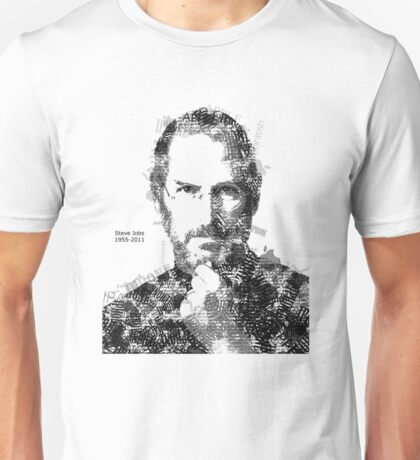 Tribute To Steve Jobs Unisex T-Shirt