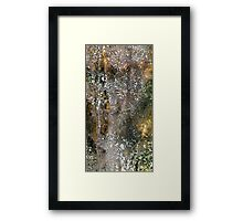 Complex and real Framed Print