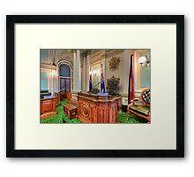 Queensland Parliament Legislative Assembly • Brisbane • Australia Framed Print