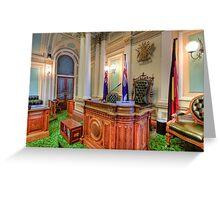 Queensland Parliament Legislative Assembly • Brisbane • Australia Greeting Card